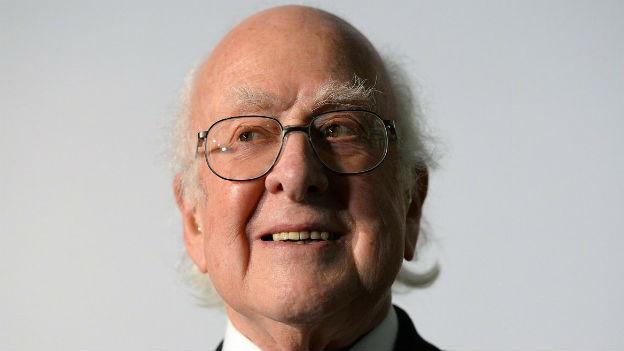 Peter Higgs, Entdecker des entscheidenden Teilchens.