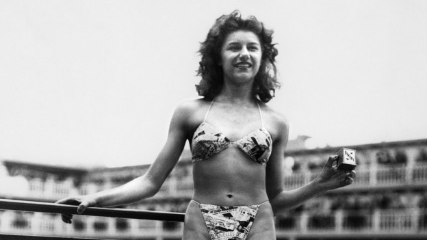 Die Präsentation des ersten Bikinis war ein regelrechter Skandal