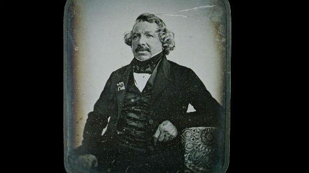 Pionier der Fotografie: Louis Daguerre, 1787 - 1851.
