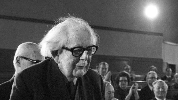 35 Ehrendoktortitel: Jean Piaget, Entwicklungsforscher.