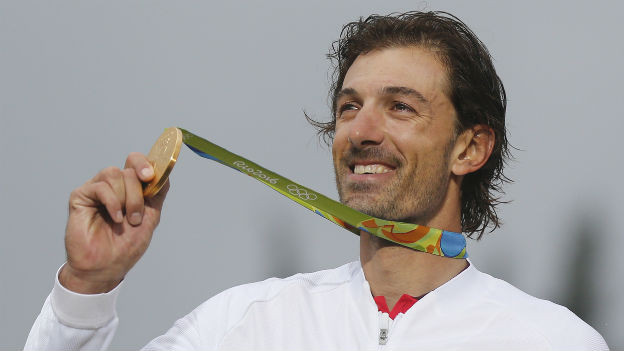 Schnellster im Zeitfahren: Fabian Cancellara.