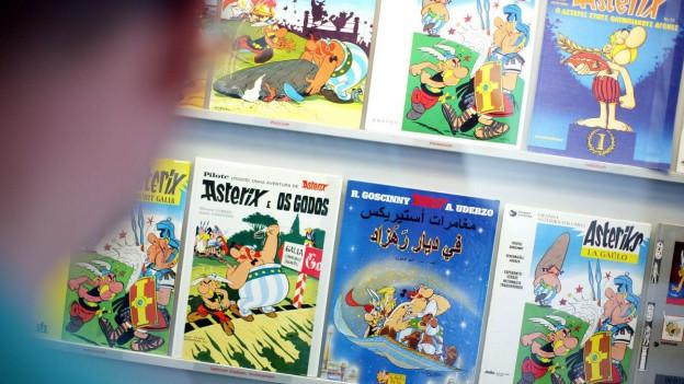 Die Geschichten von Asterix und Obelix wurden zum Welterfolg.
