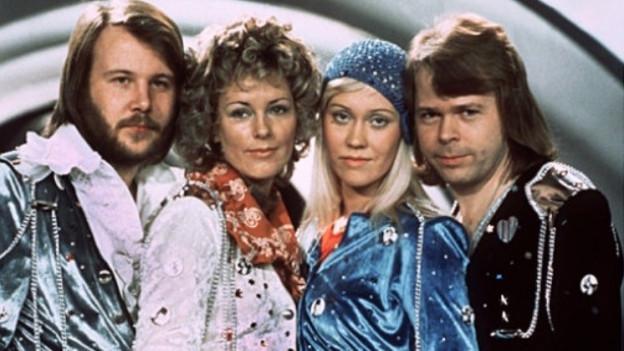 enny Andersson, Anni-Frid Lyngstad, Agnetha Fältskog, Björn Ulvaeus.