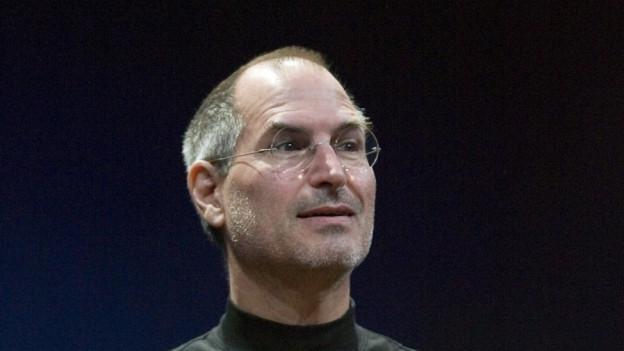 Steve Jobs 2007 bei der Vorstellung des neuen iPhones