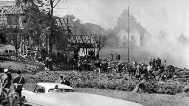 Der Swissair-Absturz in Dürrenäsch AG forderte 80 Tote.