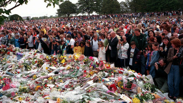 Die Welt vereint im Schmerz: Begräbnis von Lady Diana