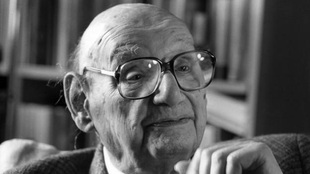 Der ehemalige Beromünster-Journalist Jean Rudolf von Salis, 1994.