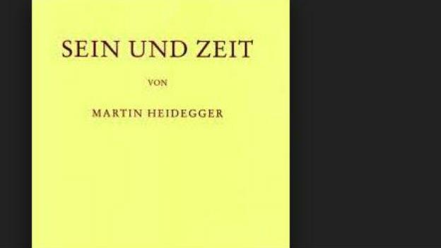 Epochemachend: «Sein und Zeit» von Martin Heidegger.
