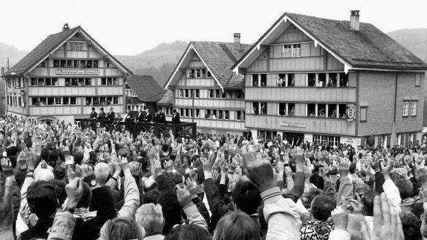 Landsgemeinde Appenzell Ausserrhoden.