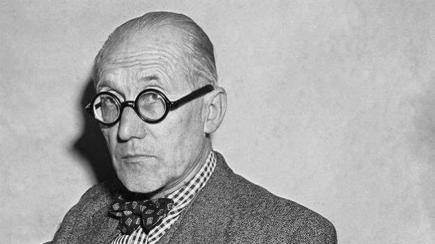 Pionier der Avantgarde: Le Corbusier, Archtitekt.
