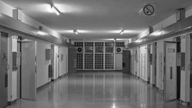 Schauplatz eines Dramas:Justizvollzugsanstalt Stuttgart.