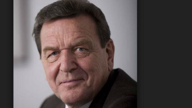 Sicherer Machtinstinkt:Bundeskanzler Gerhard Schröder.