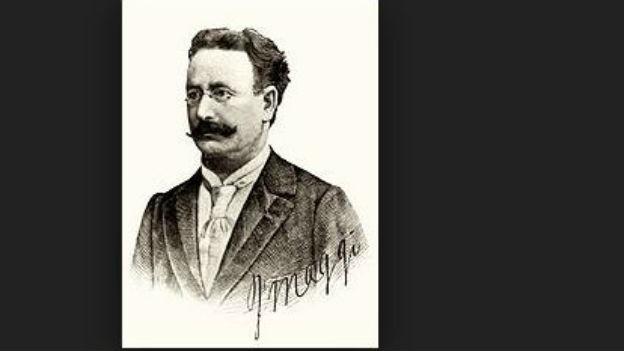 Erfinder der Maggi-Würze: Julius Maggi, 1846 - 1912.