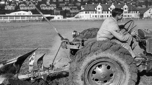 Umstellung zur Selbstversorgung: Anbauschlacht,1939/40