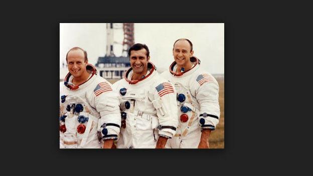 Die zweite Mannschaft auf dem Mond: Apollo 12.