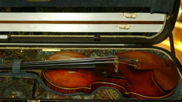 Wärme, Fülle, stille Kraft: Stradivari-Geige.