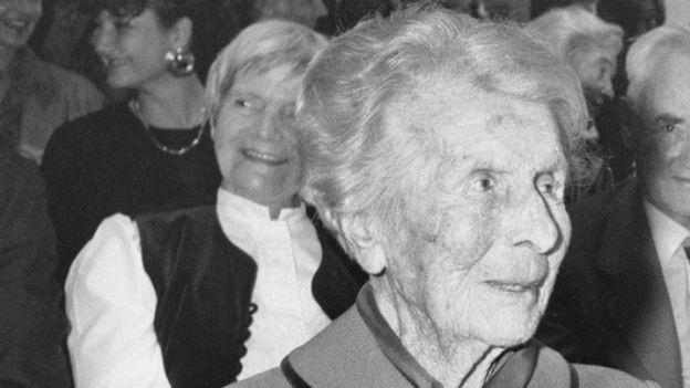 Gewissen der Migros: Adele Duttweiler-Bertschi.