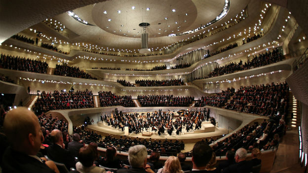 Einmalige Klangdichte: Konzertsaal der Elbphilharmonie.