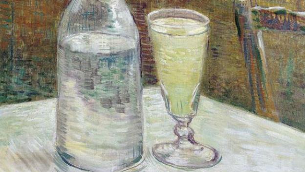 Sagenumwoben: Absinth (hier ein Glas von van Gogh).