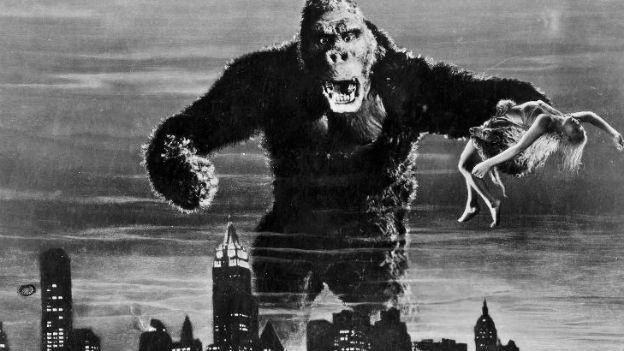 Die Schönheit im Griff: King Kong.