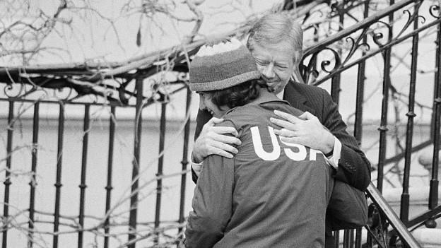 Nach dem Carter-Entscheid mussten die US-Athleten zuhause bleiben.