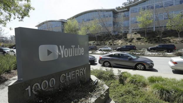 Der Youtube-Hauptsitz in San Bruno, Kalifornien.