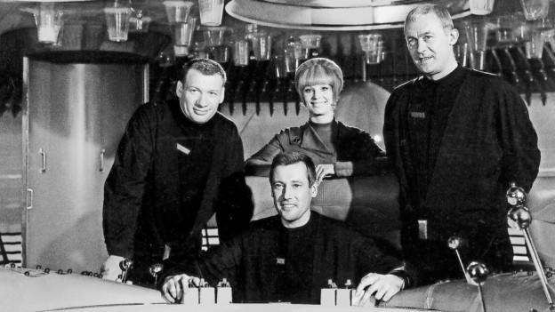 Das Team der Orion erstmals auf Raumpatrouille