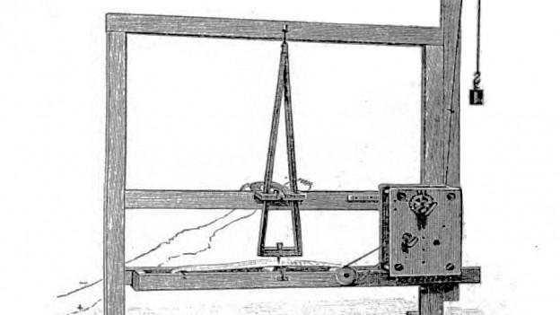 Schema des ersten Morsegeräts