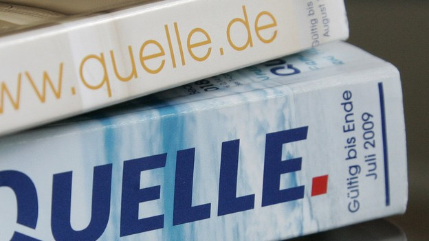 """Der """"Quelle""""-Katalog - die Bibel des deutschen Wirtschaftswunders"""