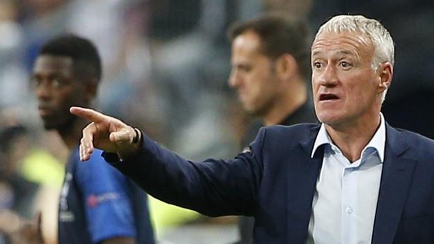 Didier Deschamps, Fussball-Welttrainer 2018.
