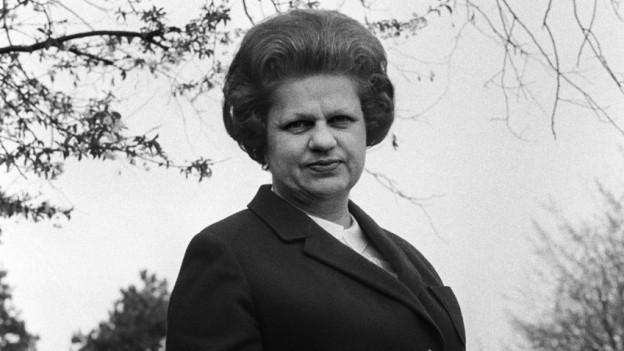 Die Genferin Lise Girardin zog 1971 als erste Frau in den Ständerat ein