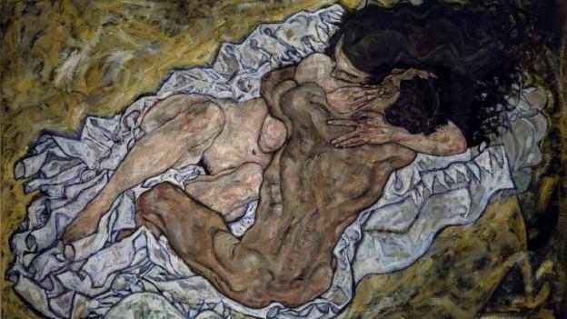 """""""Die Umarmung"""" von Egon Schiele (1917)"""