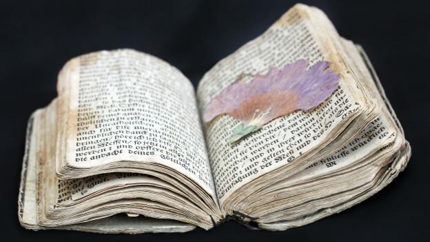 Buch aus dem 18. Jahrhundert