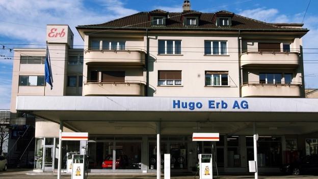 Der unscheinbare Erb-Firmensitz in Winterthur-Töss