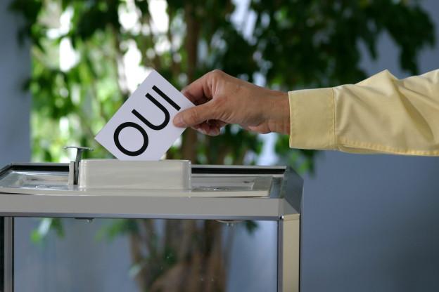 In den Westschweizer Kantonen stimmte eine Mehrheit der Stimmenden für den EWR-Beitritt der Schweiz