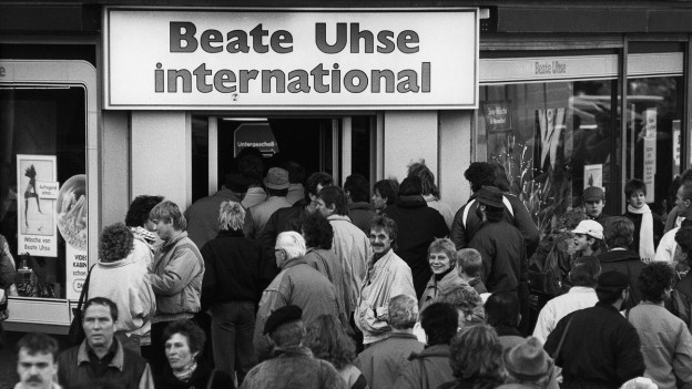 Beate Uhse-Laden in Deutschland 1989