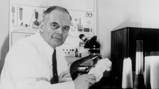 Paul Schlack, der Erfinder des Perlon