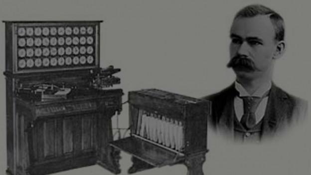 Herman Hollerith und seine Lochkartenmaschine