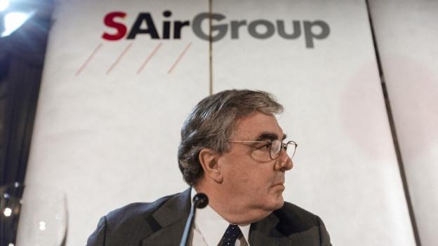 Ein kurzes Gastspiel: Moritz Suter blieb nur 44 Tage Chef der SAir Group.