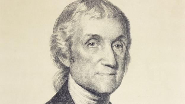 Bild des Naturwissenschaftlers und Theologen Joseph Priestley in der Gregory Tobias Chemical Heritage Foundation