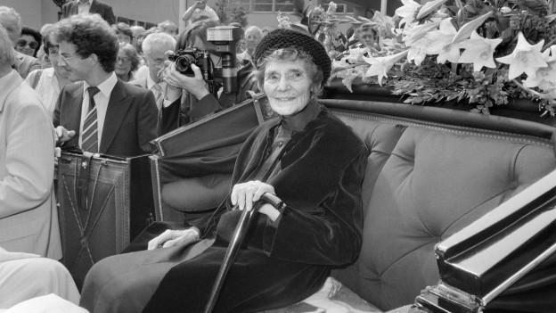 Die ehemalige Kaiserin Zita einige Jahre vor ihrem Tod.