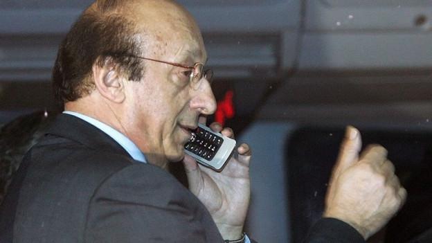 Zentrale Figur im Fussball-Skandal: Ex-Juve-Manager Luciano Moggi