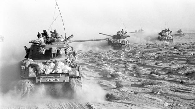 Israel im Sechstagekrieg: Das Land brauchte Kampfjet-Ersatzteile. Ein Schweizer half ihnen dabei.