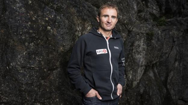 Porträt des Bergsteigers Ueli Steck