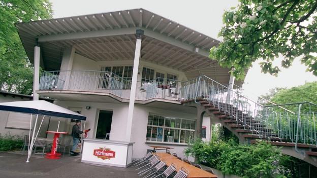 Pavillon von Max Frisch.