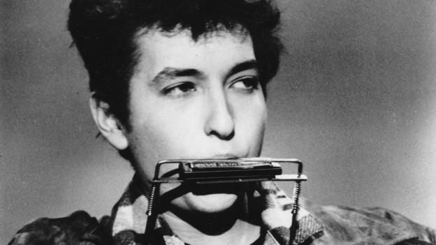 Bob Dylan in den frühen 60er-Jahren
