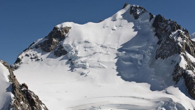 Der 4810 Meter hohe Mont Blanc