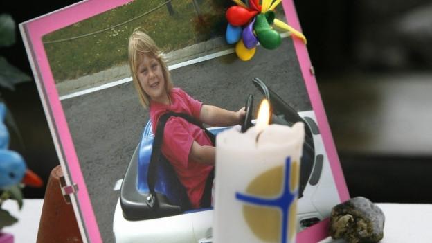 Ylenia, die am 31. Juli 2007 entführt worden ist