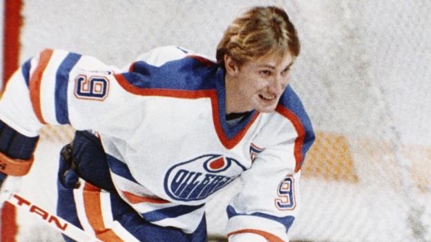 """Wird auch """"The Great One"""" genannt: Wayne Gretzky."""