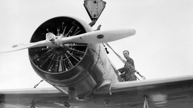 Flugpionier Charles Lindbergh
